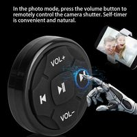 Control remoto Mini para coche, dispositivo con Bluetooth 4,0