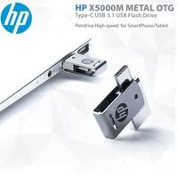 HP USB Flash Drive 128 tipo GB-C USB3.1 Pendrive 256GB 64GB de alta velocidad X5000M U disco para SmartPhone/Tablet/PC 16GB 32GB