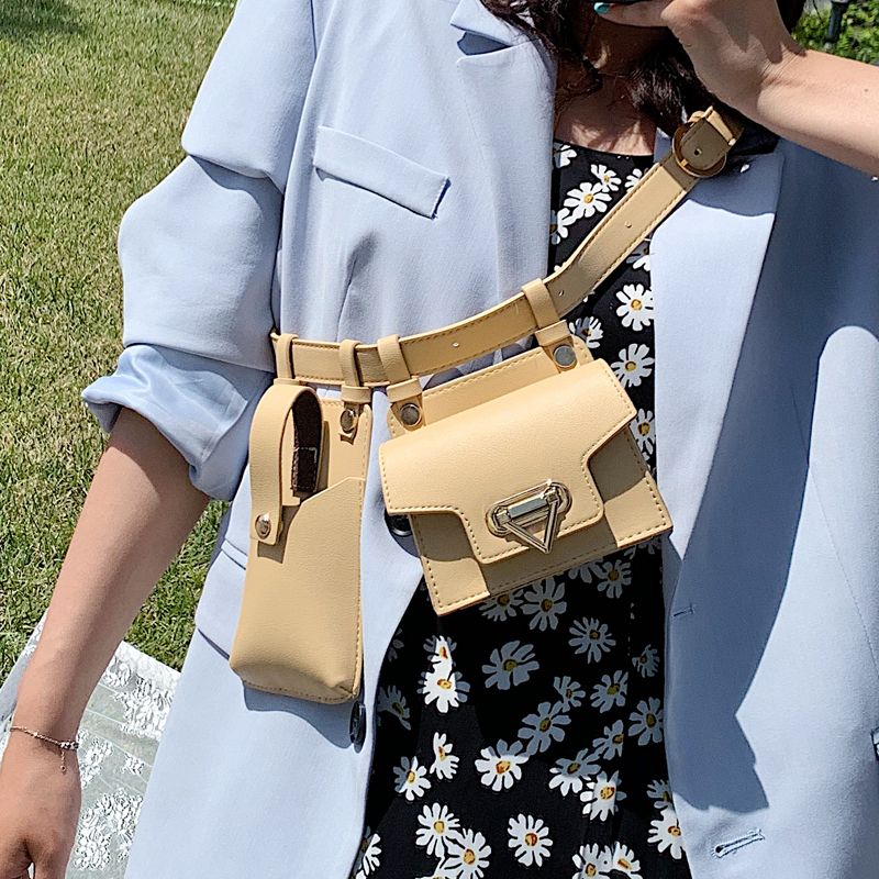 New Design Cool Small PU Leather Fanny Packs For Women 2020 Travel Belt Bag Waist Packs Female Phone Purses Lady Chest Bags Waist Packs    - AliExpress