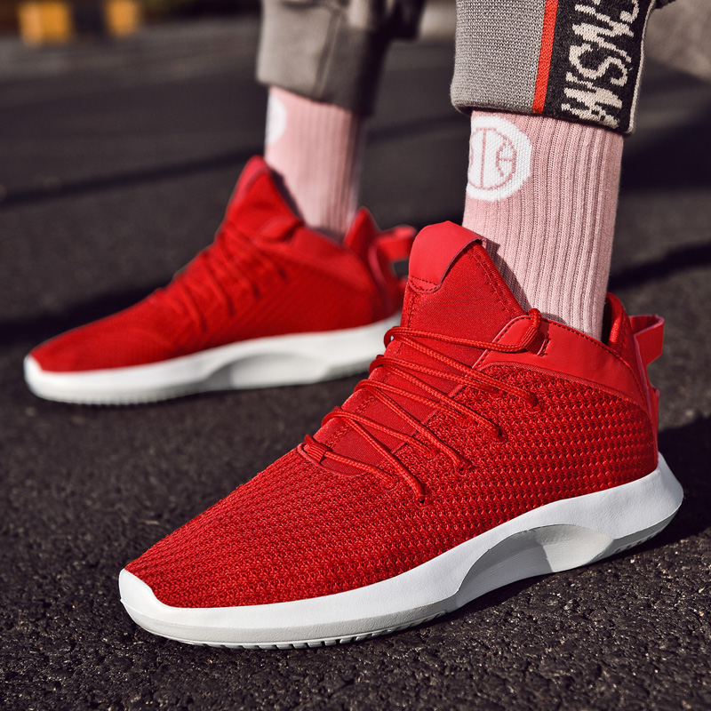 Брендовая Новая легкая спортивная обувь для мужчин, сетчатая дышащая износостойкая, хит 2019, спортивная обувь для фитнеса и тренировок