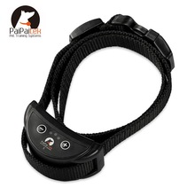 Pet-Dog-Training-Collar Electric-Shock Anti-Bark with 7-Levels Adjustable Nylon 1PC Original