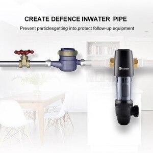 Image 4 - Wheelton предварительный фильтр Регулируемое направление 59 1 латунь 40 микрон Prefiltro фильтр для воды очиститель защита прибора