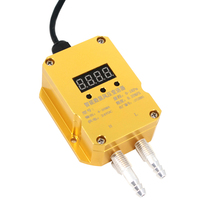 Saída 4 20ma do sensor de pressão diferencial do transmissor de pressão do vento fornalha positiva e negativa do encanamento da pressão do fã|Sensores de pressão| |  -
