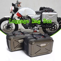 Motorcycle Box Saddle Luggage Bag Box Tail Box Luggage Cargo Bags for R3 G310R R1200GS LC Adventure MT 09 03 For KTM for triumph