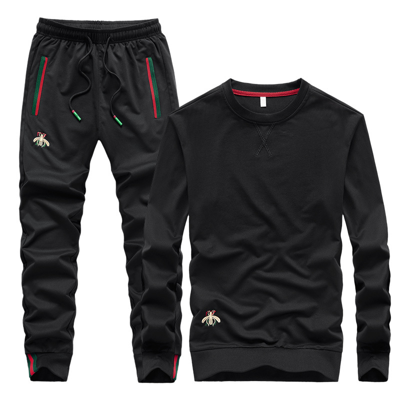 Mens Embroidered Fashion Tracksuits