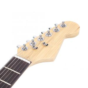 Image 3 - ES US FR Electric Guitar 39in Wooden 6 String Electric Guitar Wood Fingerboard for Beginners