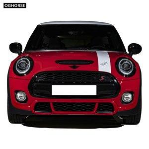 Image 3 - car styling Door Side Hood Bonnet Stripes Vinyl Decal Stickers for mini cooper R50 R52 R53 R55 R56 R57 R60 R61 F54 F55 F56 F60
