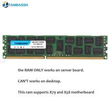 DDR3 4 ГБ 8 ГБ 16 ГБ 32 ГБ REG-ECC Серверная память 1333 1600 1866 МГц DDR 3 радиатор dimm REG ram поддерживает материнскую плату X58 X79