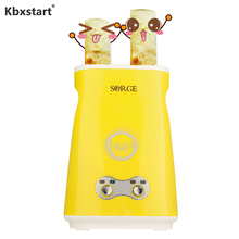 Купить с кэшбэком Kbxstart 220V Electric Omelette Dual Egg Roll Maker Automatic Double Switch Boiled Eggs Sausage Machine Cooker For Breakfast