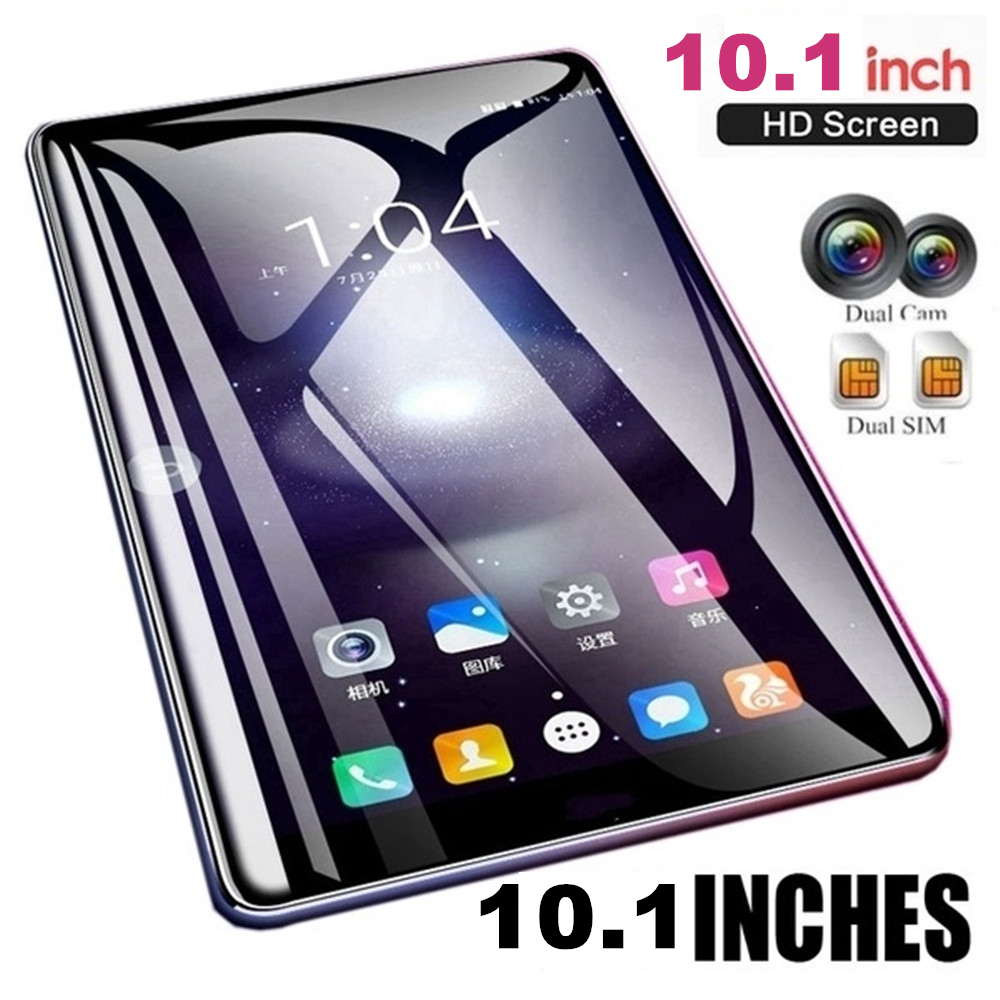 10.1 Inch WiFi Tablet PC Android 7.1 Tablet Ten Core 4G Network Arge 2560*1600 IPS Screen Dual SIM Dual Camera Rear 13.0 MP