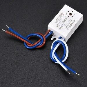 Image 5 - 1 pc 220 V Automatische Sound Stimme Sensor Für Auf Off Street Light Switch Foto Control 38x27 x 16mm