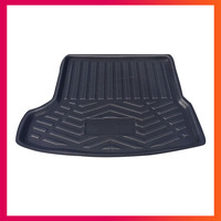 For Mazda 3 Axela 2014 2015 2016 2017 2018 Sedan Boot Mat Rear Trunk Liner Cargo Floor Tray Carpet Protector Car Accessories   -