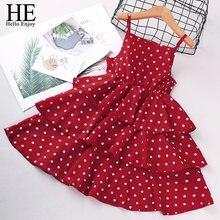 He hello enjoy/красные платья для девочек коллекция 2021 года