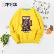 Hot Sale Child Thanos Printing Avengers Hoodies Boys Girls Kids Spring Autumn Hoodie Long Sleeve Casual Sports Sweatshirts