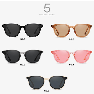 Image 5 - AEVOGUE New Women Retro Outdoor Polarized Sunglasses Transparent Korean Round Fashion Driving Sun Glasses Unisex UV400 AE0850