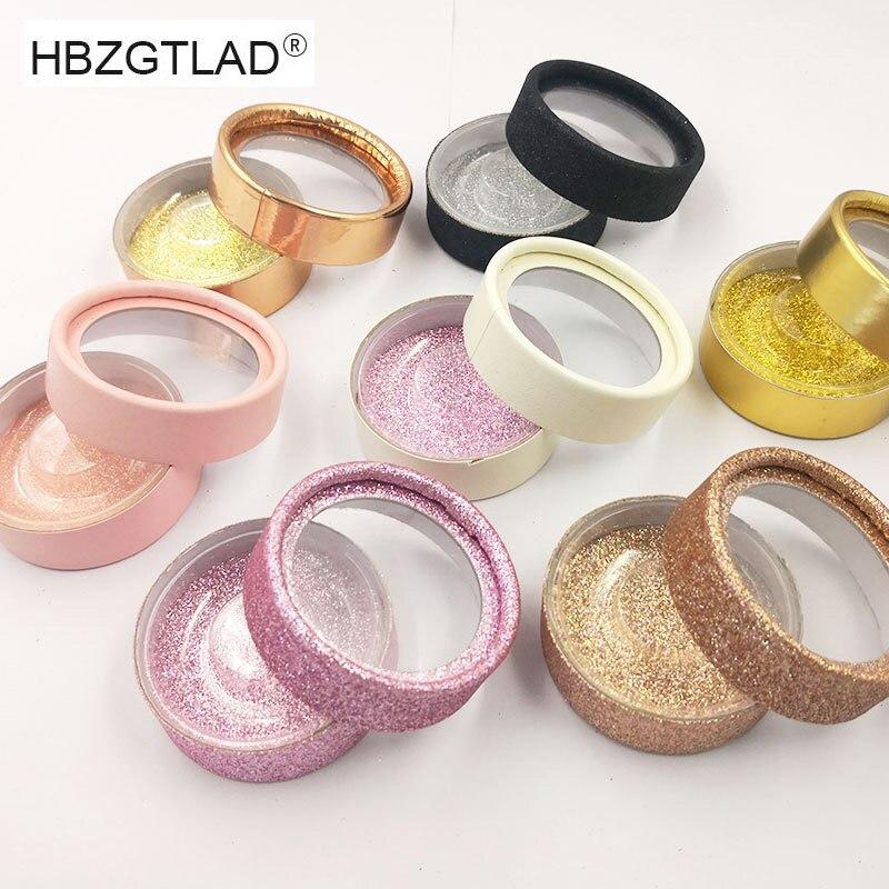 1 Pair Lashes Packing Boxes Eyelashes Packing Box Eyelashes Packaging Transparent Lid Beige Pink Trays Eye Lash Tray Clear Box(China)