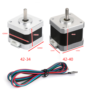 Image 2 - Areyourshop 3D Printer 42 40 42 34 X/Y/Z/E Stepper Motor For 3D Creality Ender 3 Pro CR 10