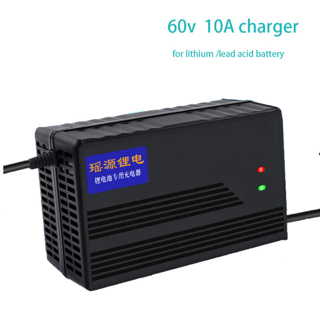 60V 10A Charger 67.2V 10A li ion Charger 73v 10A 20S lifepo4 Smart Charger  for lithium ion battery lifepo4 LTO li ion lead acid