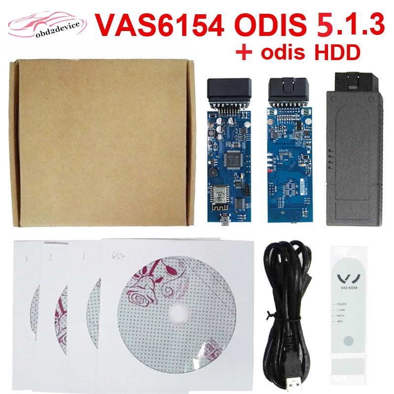 VAS6154 ODIS v5.13 OBD2 WIFI Bluetooth <font><b>VAG</b></font> Scanner For V W/Audi <font><b>OBD</b></font> OBD2 Car Diagnostic Auto Tool vas6154 image