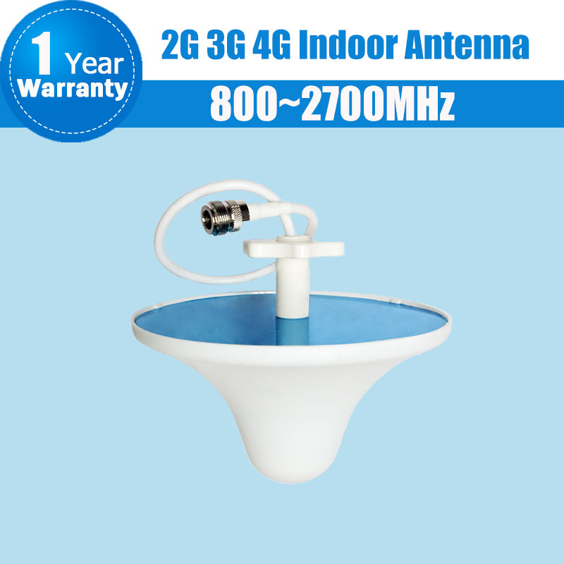 3G 4G 800Mhz To 2700MHz LTE GSM CDMA WCDMA UMTS Network Indoor Ceiling Antenna Internal Antenna Mobile Phone Siganl Booster S57