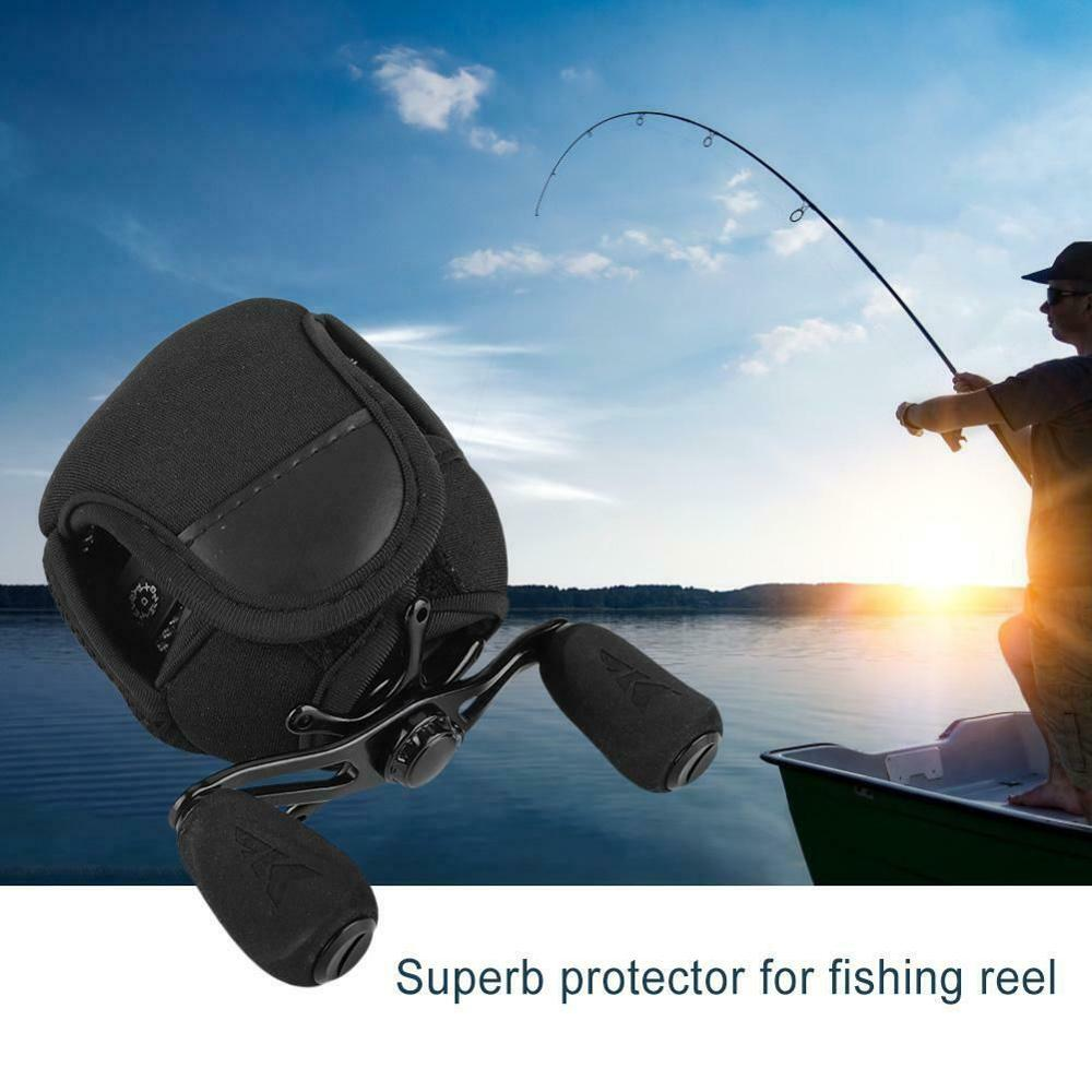 Fishing Wheel Case Casting Reel Bag Fishing Reel Protection Bags Bait Lure Pack Protective Cover Fishing TackleA
