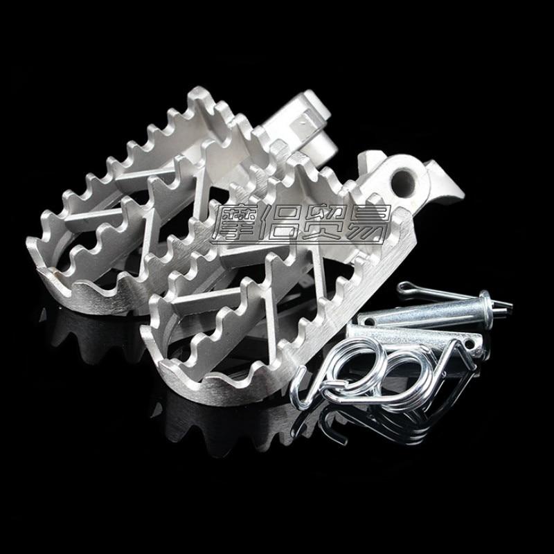 Универсальные подножки для мотоциклов, подходят для мотоциклов CRF, CQR, BBR, TTR, Kawasaki, Magic, Yamaha, BMW, Suzuki
