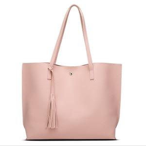Image 1 - New autumn/winter bag fashion tassel womens bag European and American fashion womens handbag wave grain one shoulder bag