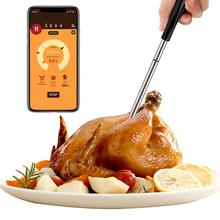 Wielofunkcyjny termometr cyfrowy inteligentne mięso na grilla termometr do gotowania żywności podwójny czujnik temperatury czujniki termometr kuchenny termometer digital stacja pogodowa termometr bezdotykowy tanie tanio CN (pochodzenie) Meat Thermometer kitchen thermometer Termometry kuchenne Termometry domowe Metal BBQ Meat Food Cooking Steak Thermometer