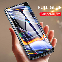 Full glue protective glass for realme xt x2 6 7 8 x50 pro GT Neo 5G screen protector tempered for oppo A73 A5 A9 2020 A72 C3 c11 cheap chyi Anti Blue-ray CN(Origin) Front Film for oppo realme realme tempered glass full cover gloue glass No bubbles not easy to get into the dust