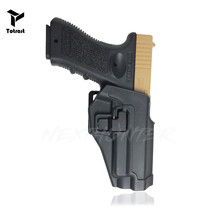 TOtrait CQC Concealment Holster Tactical P226 Pistol Gun Holster Right Hand Military Waist Belt Loop Paddle Police tactical gun carry military combat sig sauer p226 pistol leg holster hunting equipment right hand pistol thigh holster 3 colors