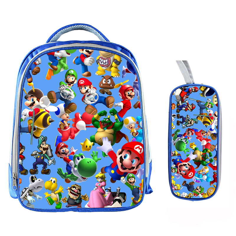 13 Inch Cartoon Sonic Backpack 17