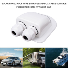 Box Motorhome Solar-Panel Box-Cable Roof-Wire Entry-Gland Rv-Yacht Double-Hole with Car