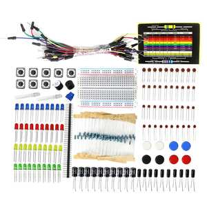 Starter-Kit Capacitor with Breadboard-Cable Resistor LED Potentiometer-Box Packing Electronics-Component