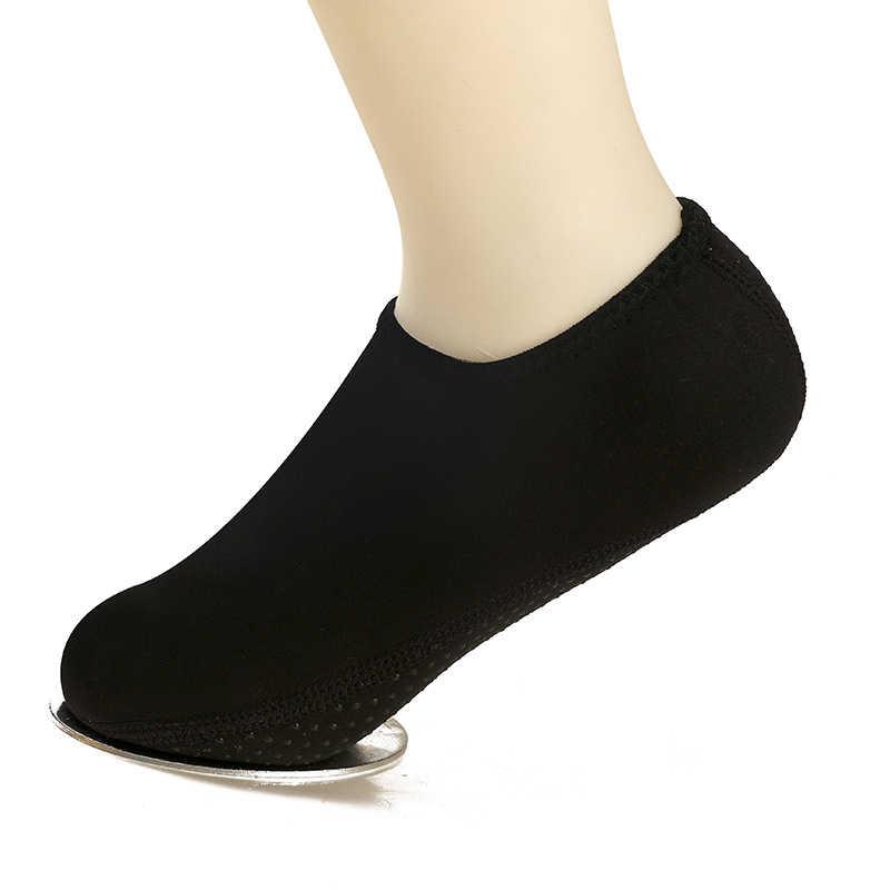 ว่ายน้ำถุงเท้าชายหาดถุงเท้าดำน้ำดูปะการังรองเท้าดำน้ำรองเท้าน้ำกีฬาขาอุ่น Anti-SLIP