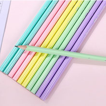 15 шт зеленый безвредный треугольный стержень hb карандаш деревянный