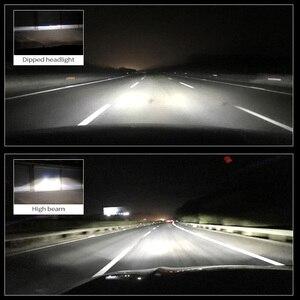 Image 2 - Canbus 90W/Pair Lamp H4 LED Mini Projector Lens Automobles Bulb 14000LM Conversion Kit Hi/Lo Beam Headlight 12V/24V RHD LHD