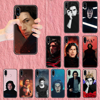 Adam Driver Phone case For Huawei Honor 6 7 8 9 10 10i 20 A C X Lite Pro Play black art Etui luxury bumper painting prime tpu image