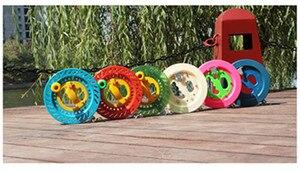 18 см/22 см змей линия колеса змей катушка 100 м/200 м/400 м воздушный змей линия наружные игрушки для детей воздушный змей оптовая продажа с фабрик...