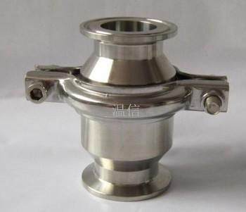 """2"""" OD 51MM Sanitary Tri Clamp Type Check Valve Ferrule OD 64mm Stainless Steel SS SUS 304 Fit 2"""" Clamp Clover"""