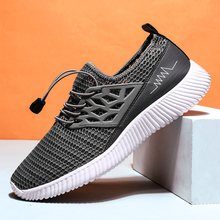 2020 Sneaker Men Lightweight Comfortable Classic Casual Footwear Breathable Running Non Leather Man Lac-up Fashion