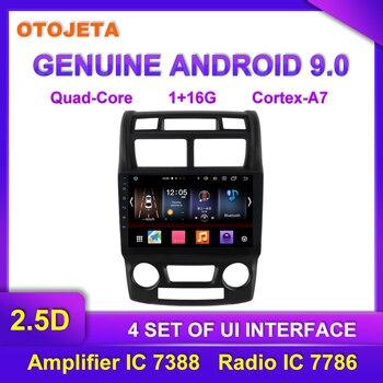 OTOJETA Android 9.0 Player Smart Car Multimedia Radio For 2008 Kia Sportage GPS Bluetooth Navigation full touch tape recorder