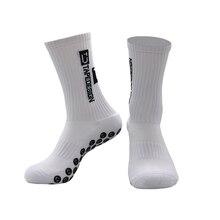 Новинка 2020, мужские Нескользящие футбольные носки, высококачественные мягкие дышащие утепленные спортивные носки, носки для бега, велоспор...