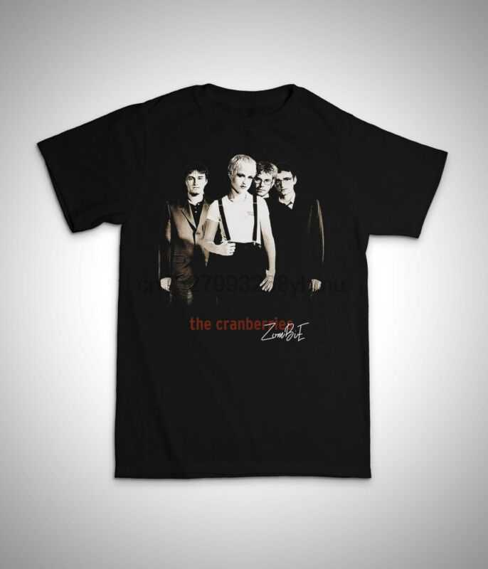 The Cranberries No Need To Argue Long Sleeve Black T-Shirt Size S to 3XL