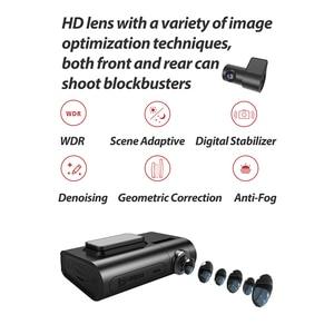 Image 2 - Original DDPai X2S Pro Dash Cam DVR 1440P HD 24H Parking Monitoring Master Built in GPS n G Sensor Sony MIX Front Rear Recording