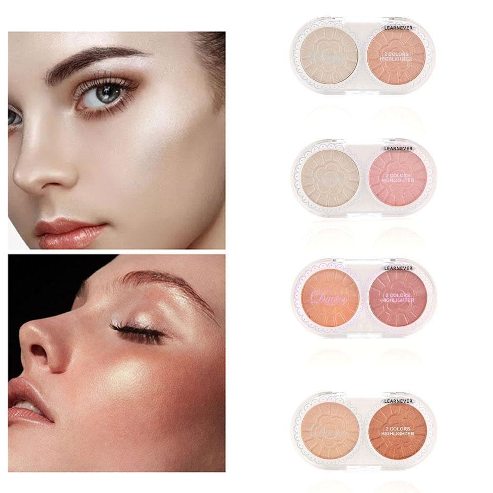 Natural Long Lasting Whitening Concealer Foundation Oil Control Matte Blush Rouge Contour Powder Cake image