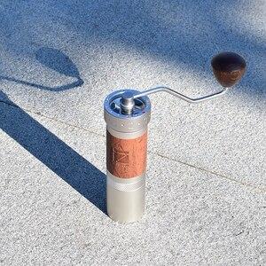 Image 2 - 1zpresso k pro kahve değirmeni taşınabilir manuel kahve değirmeni 304 paslanmaz çelik çapak ayarlanabilir 40mm özel çapak