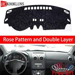 Rose wzór dla Nissan Qashqai Rogue J10 2006 2007 2008 2015 naklejki samochodowe dekoracji samochodu akcesoria samochodowe wnętrza samochodu naklejki w Naklejki samochodowe od Samochody i motocykle na