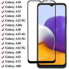 Che Phủ Toàn Bộ Kính Cường Lực Cho Samsung A42 A52 A72 A12 A22 A32 Bảo Vệ Màn Hình Trong Cho Galaxy 40 50 60 70 80 10 20 30 41 31 51 71
