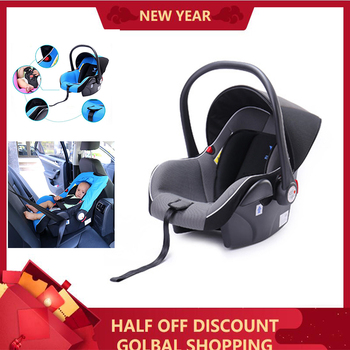 Child Car Safety Seat For Baby Girl Boy 2 In 1 Baby Stroller Basket Dual Use Suitable0-2 Year Old Portable Car B B Basket