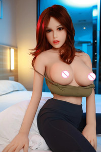 Image 2 - 158cm #14 Flesh color skin Top Quality Beautiful sexy woman sex robot full TPE with metal skeleton sex doll mens sex toy